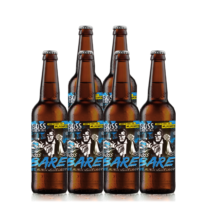 Bare 6 Case by Boss Brewing