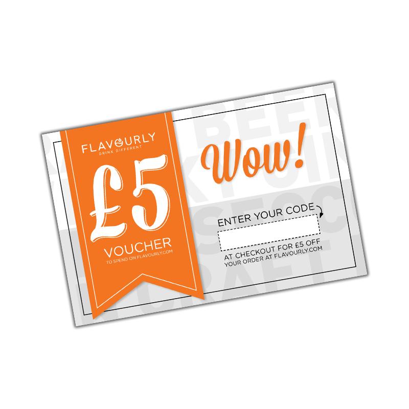Flavourly £5 Voucher