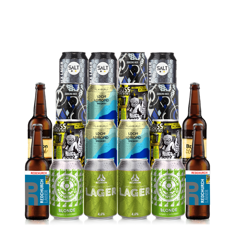 Lager Mixed 20 Case by Flavourly