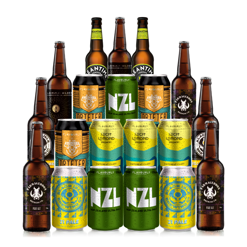 Pale Ale Mixed 20 Case by Flavourly