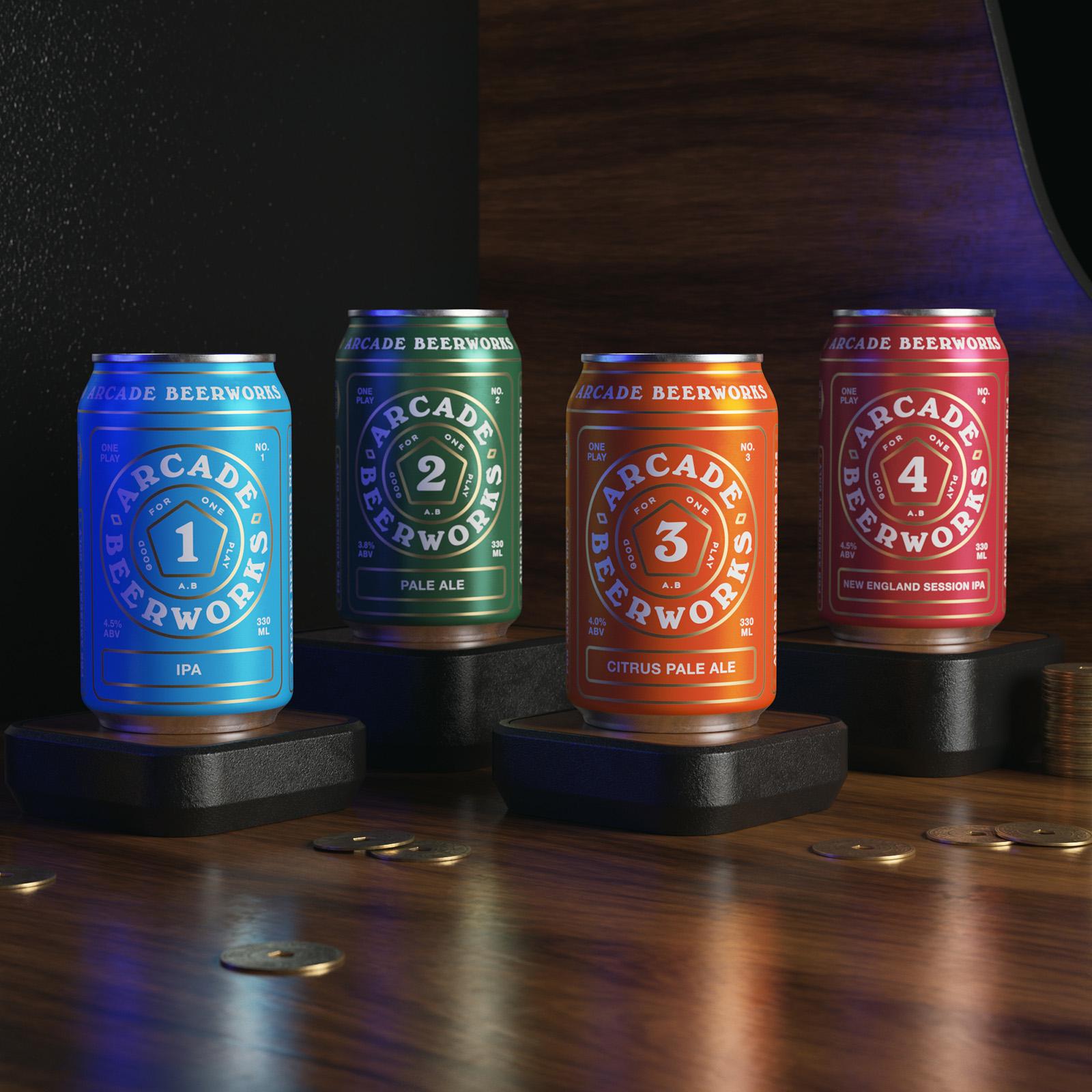 Arcade Beerworks Taster Pack by Arcade Beerworks