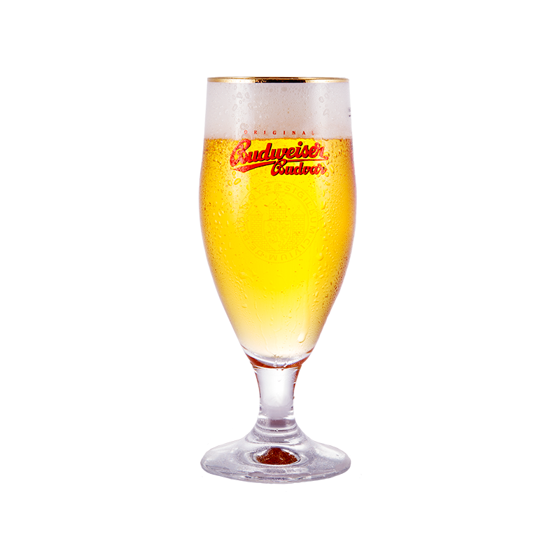 Budvar Glass by Budweiser Budvar