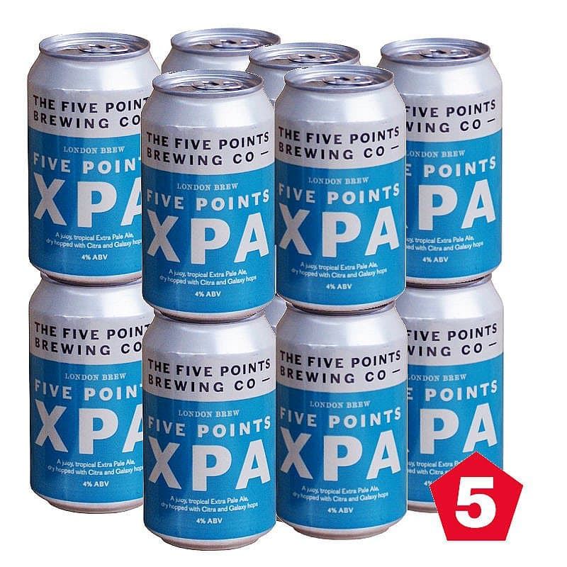Five Points XPA 12 Case by Five Points Brewing Co