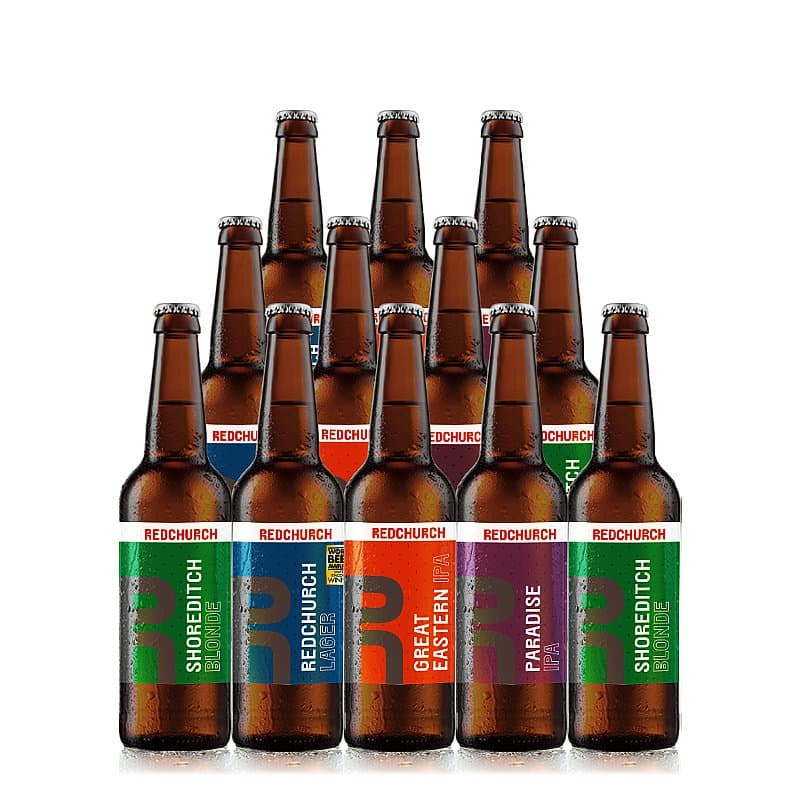 Mixed 12 Case by Redchurch Brewery