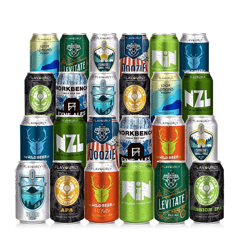 Double Dozen Mixed 24 Case by Flavourly Collaboration Cases