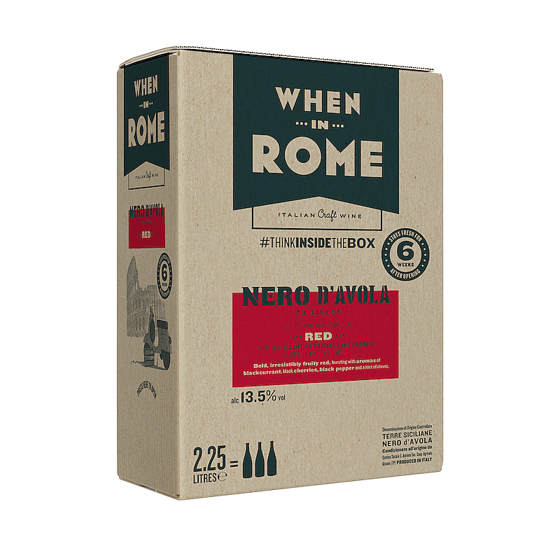 Nero d'Avola Box by When In Rome