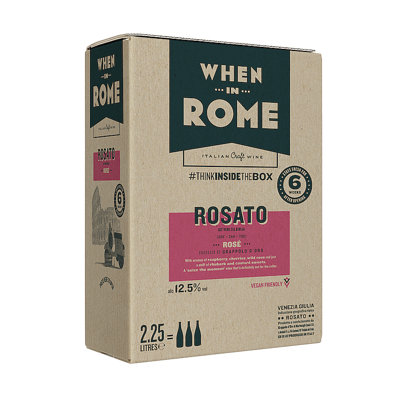 Ecotricity Rosato Box by When in Rome X Ecotricty