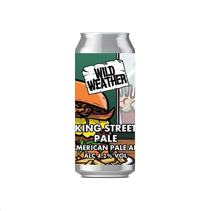King Street Pale by Wild Weather Ales