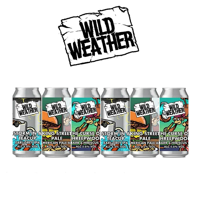 Mixed 6 Case by Wild Weather Ales