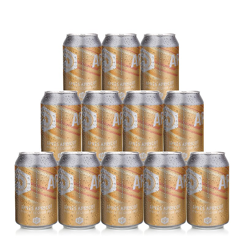 Apres Apricot 12 Case by 71 Brewing