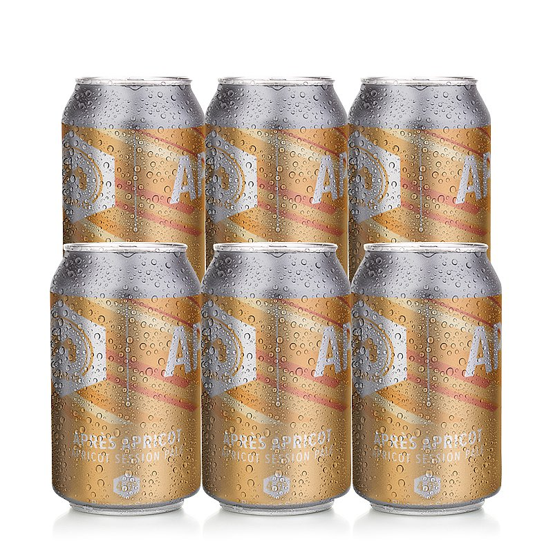 Apres Apricot 6 Case by 71 Brewing