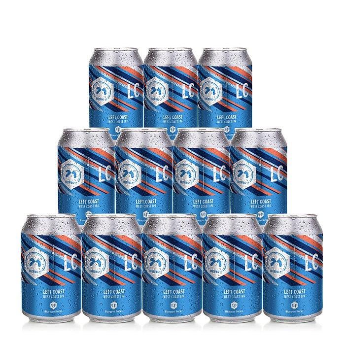 Left Coast West Coast 12 Case by 71 Brewing