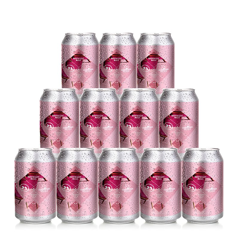 Raspberry Mash 12 Case by 71 Brewing