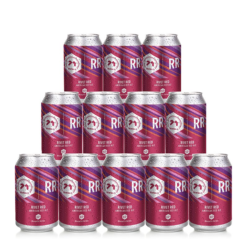 Rivet Red ARA 12 Case by 71 Brewing