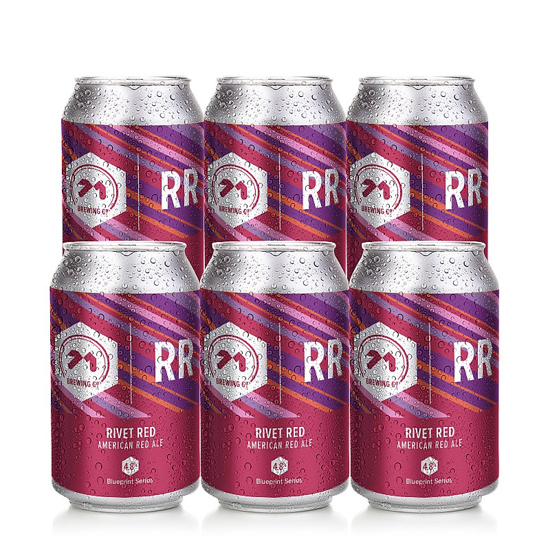Rivet Red ARA 6 Case by 71 Brewing