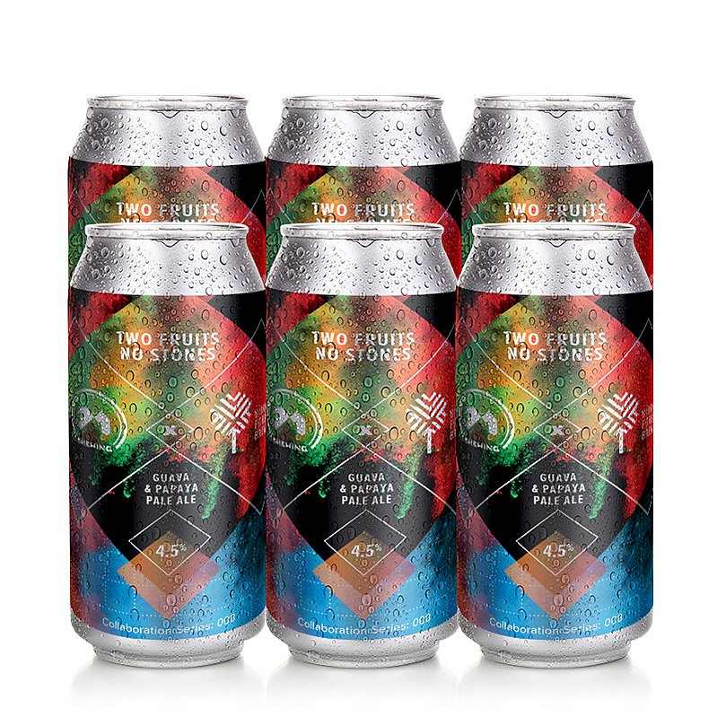 Two Fruits No Stones 6 Case by 71 Brewing