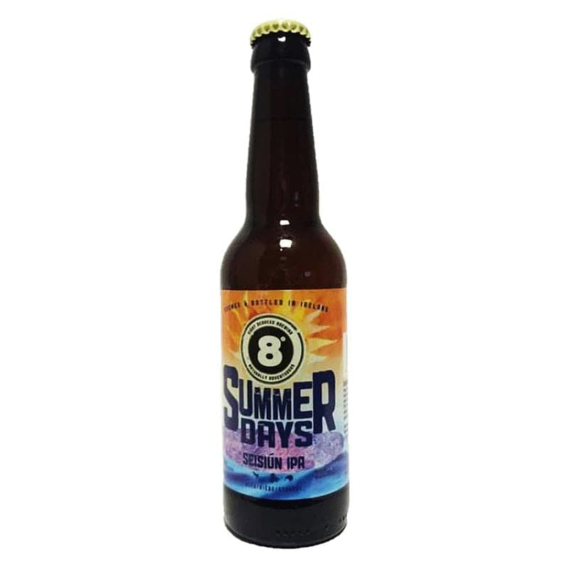 Summer Days Seisiún IPA by Eight Degrees Brewing