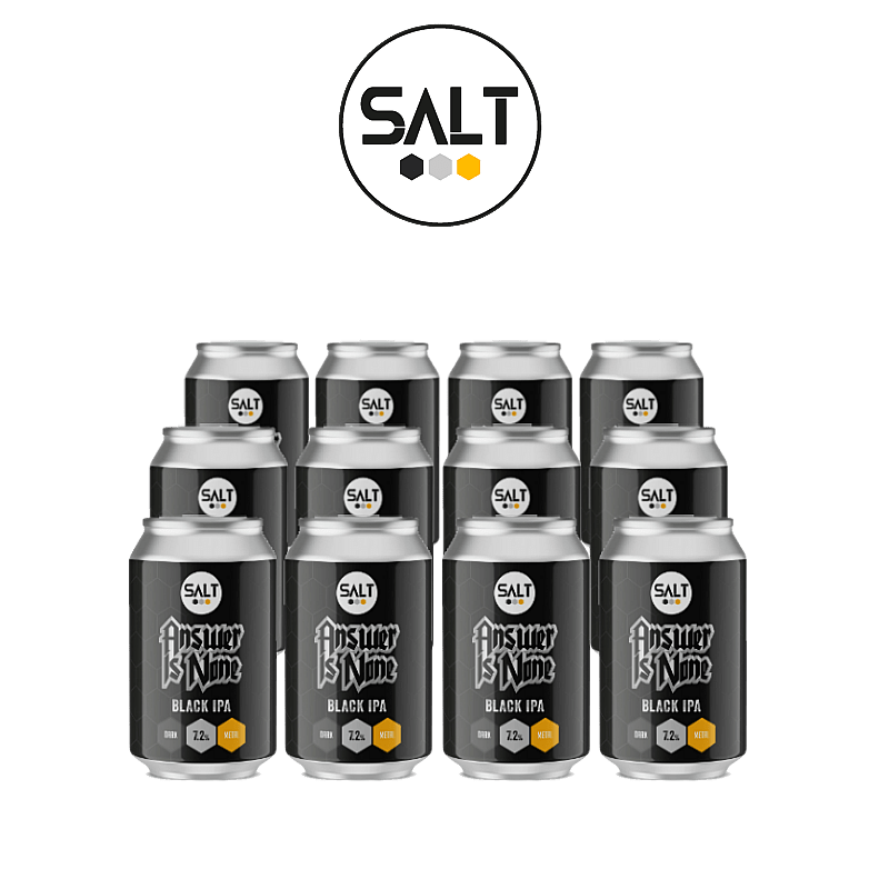 Answer Is None BIPA 12 Case by Salt Beer Factory