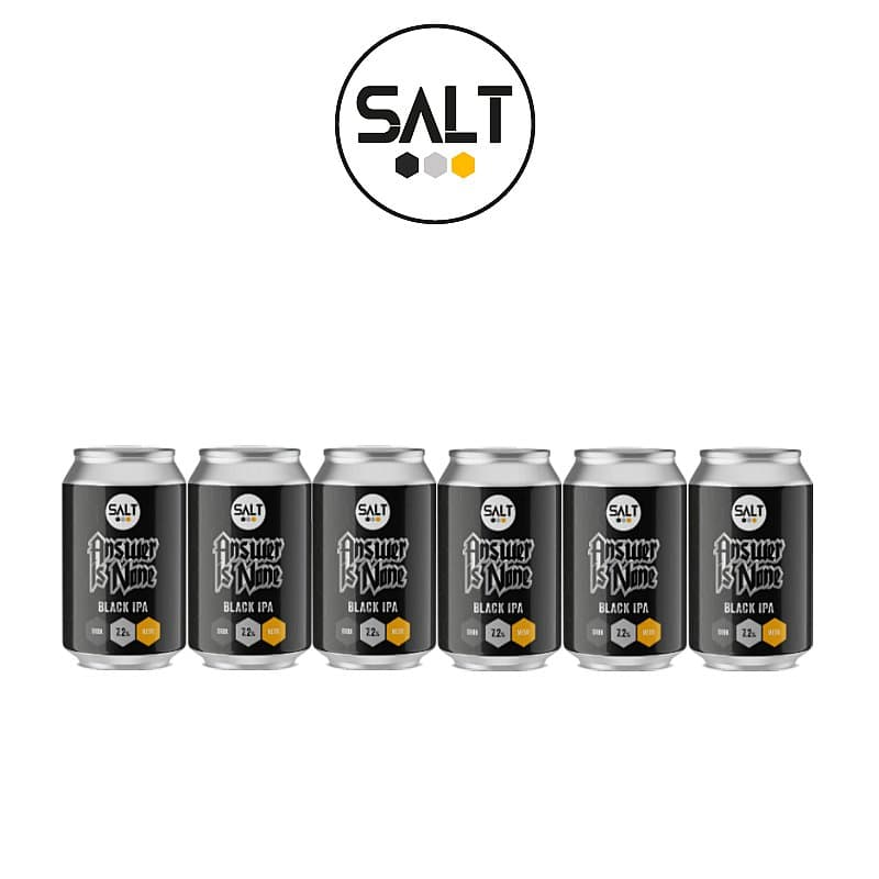 Answer Is None BIPA 6 Case by Salt Beer Factory