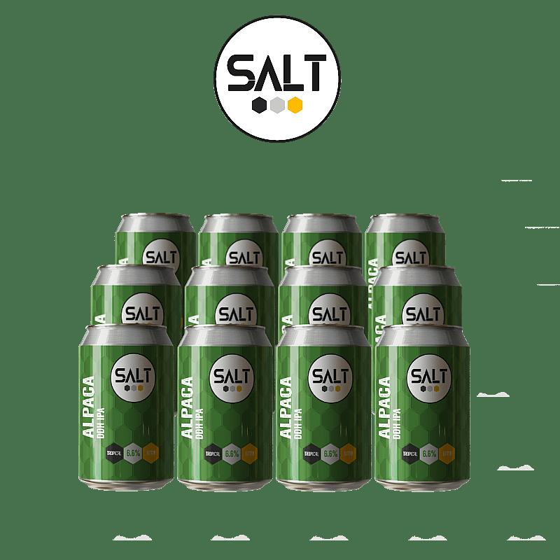 Alpaca DDH IPA 12 Case by Salt Beer Factory