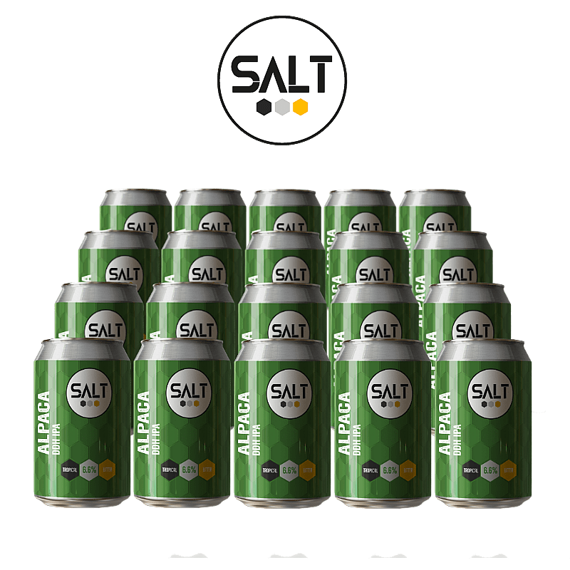Alpaca DDH IPA 20 Case by Salt Beer Factory