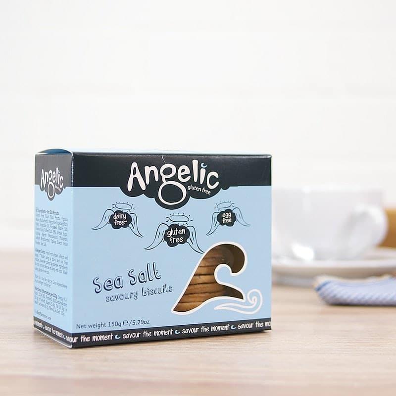 Sea Salt Biscuits by Angelic Gluten Free