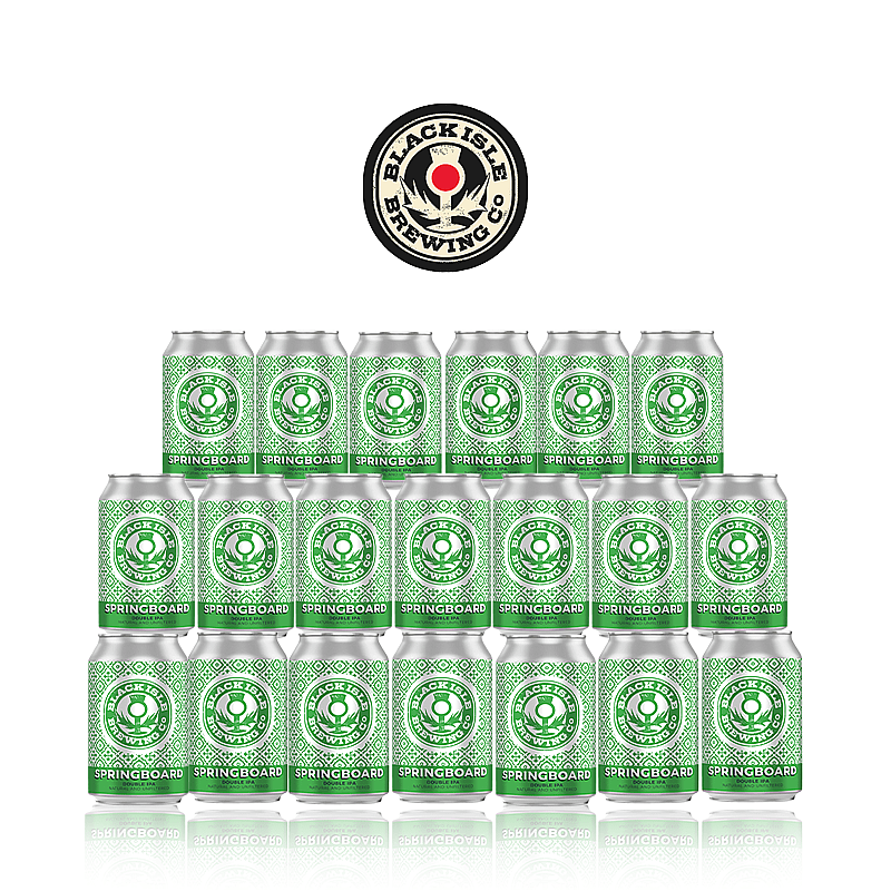 Springboard DIPA 20 Case by Black Isle Brewing
