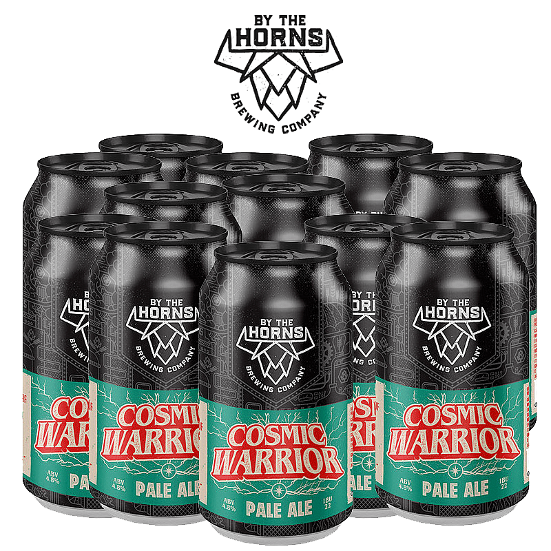 Cosmic Warrior 12 Case by By the Horns Brewing