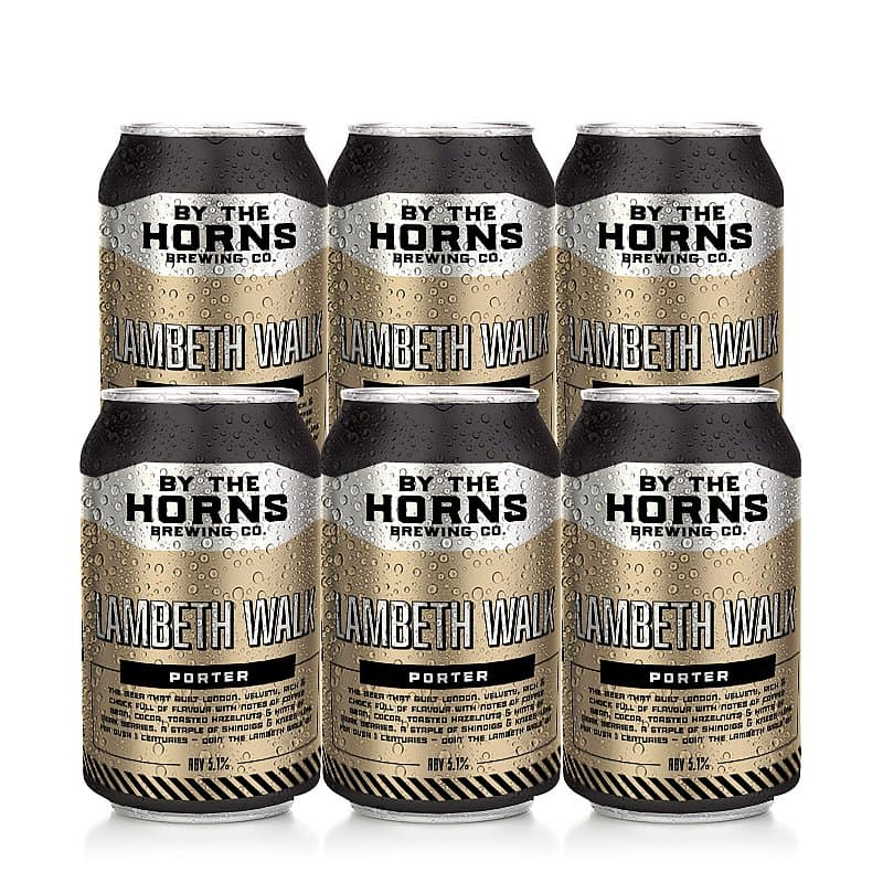 Lambeth Walk 6 Case by By the Horns Brewing