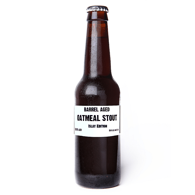 Ardbeg Barrel Aged Oatmeal Stout by Black Isle Brewing