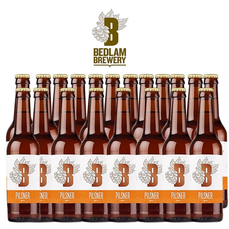Pilsner 20 Case by Bedlam Brewery