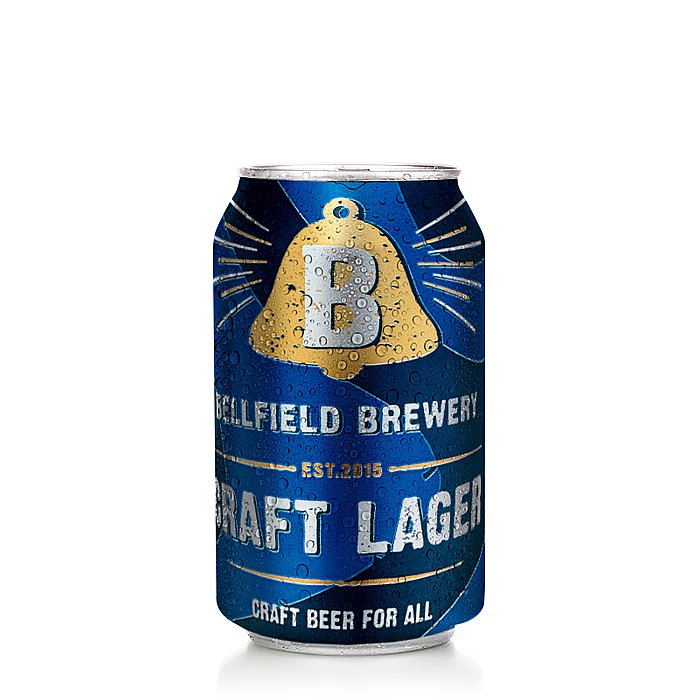 Craft Lager by Bellfield Brewery