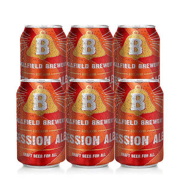 Session Ale 6 Case by Bellfield Brewery