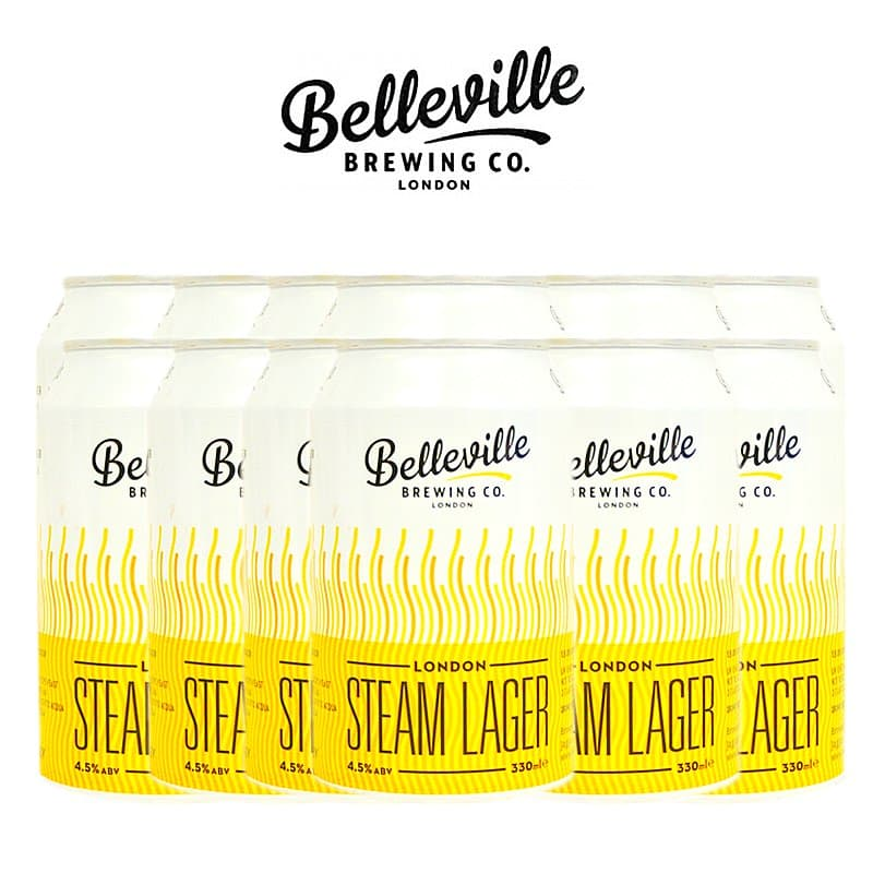 London Steam Lager 12 Case by Belleville Brewing Co.