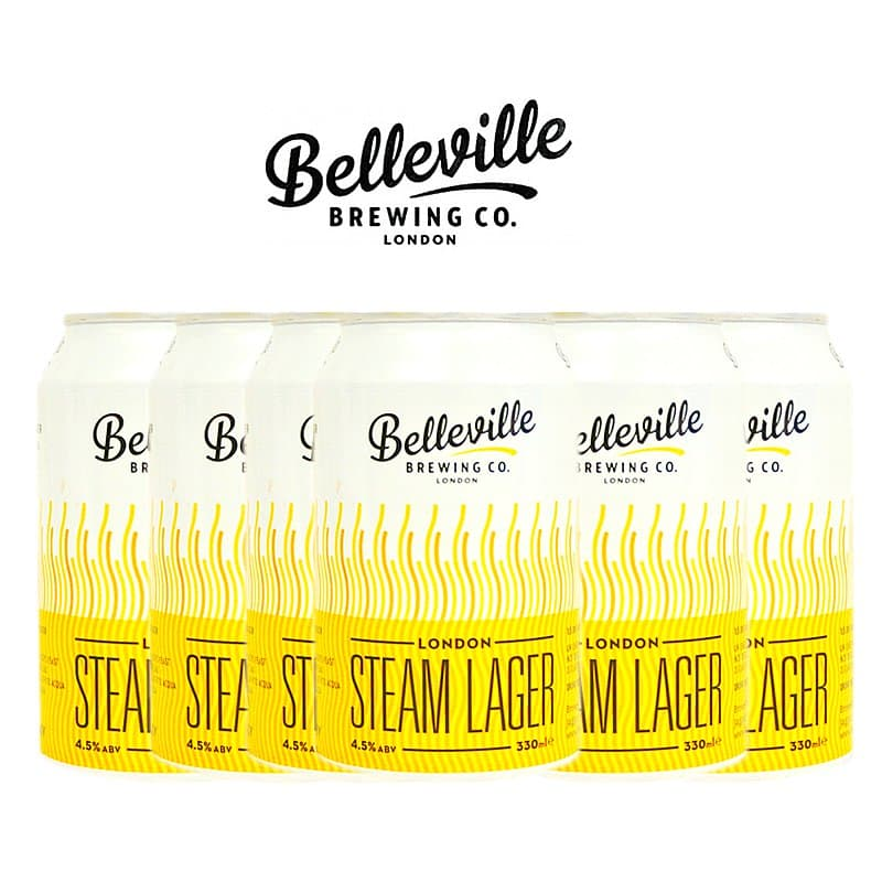 London Steam Lager 6 Case by Belleville Brewing Co.