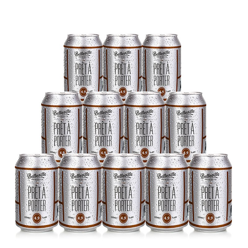 Pret A Porter 12 Case by Belleville Brewing Co.