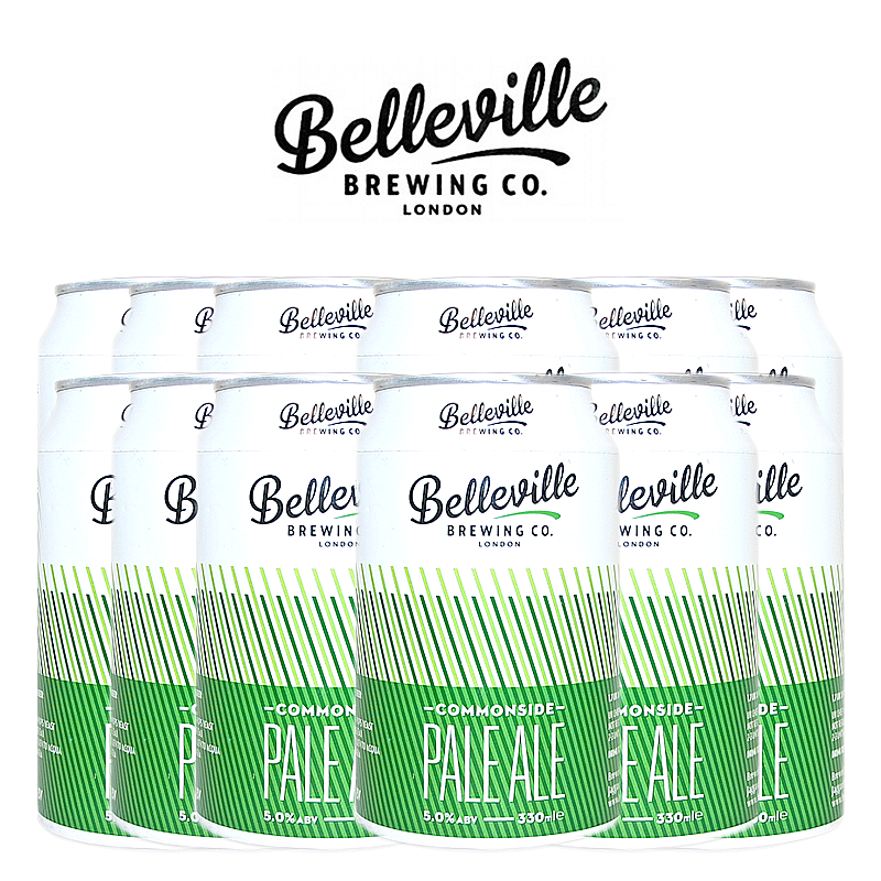 Commonside Pale Ale 12 Case by Belleville Brewing Co.