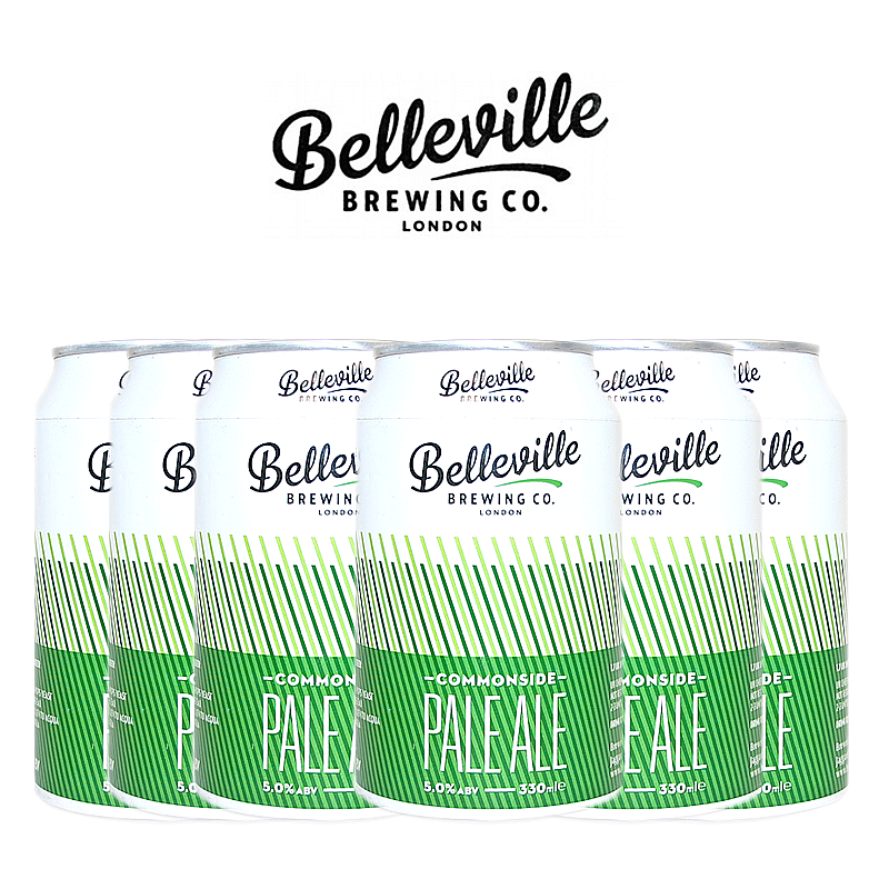 Commonside Pale Ale 6 Case by Belleville Brewing Co.