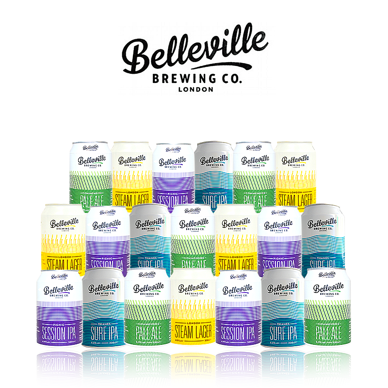 Mixed 20 Case by Belleville Brewing Co.