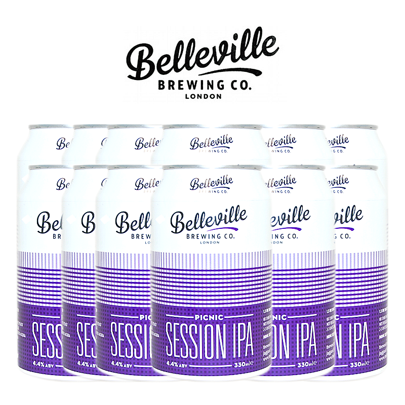 Picnic Session 12 Case by Belleville Brewing Co.