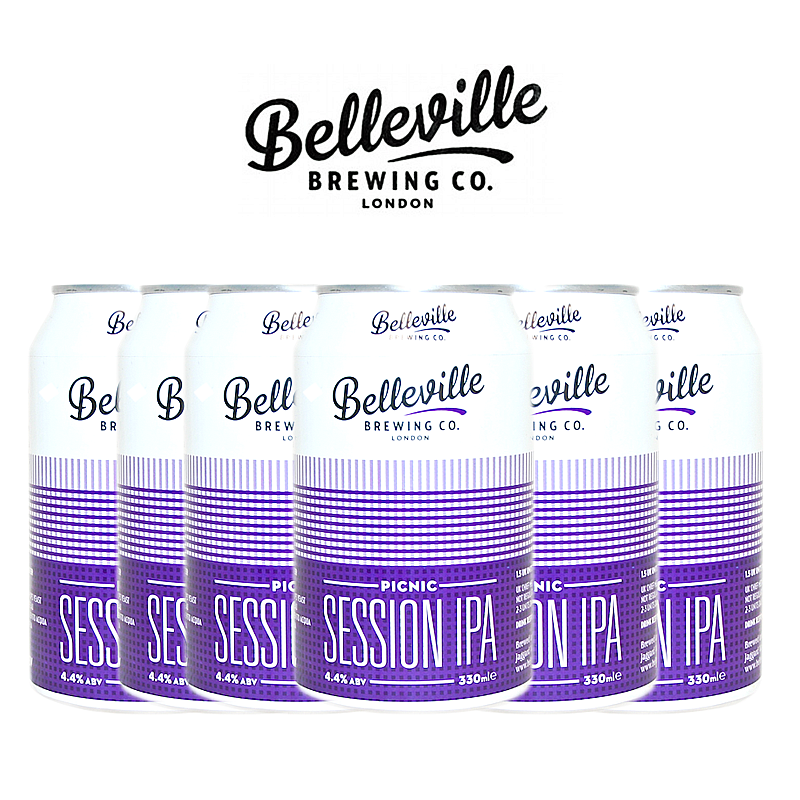 Picnic Session 6 Case by Belleville Brewing Co.