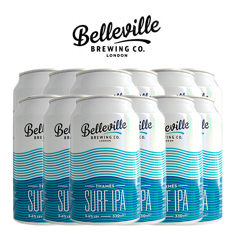 Thames Surf IPA 12 Case by Belleville Brewing Co.