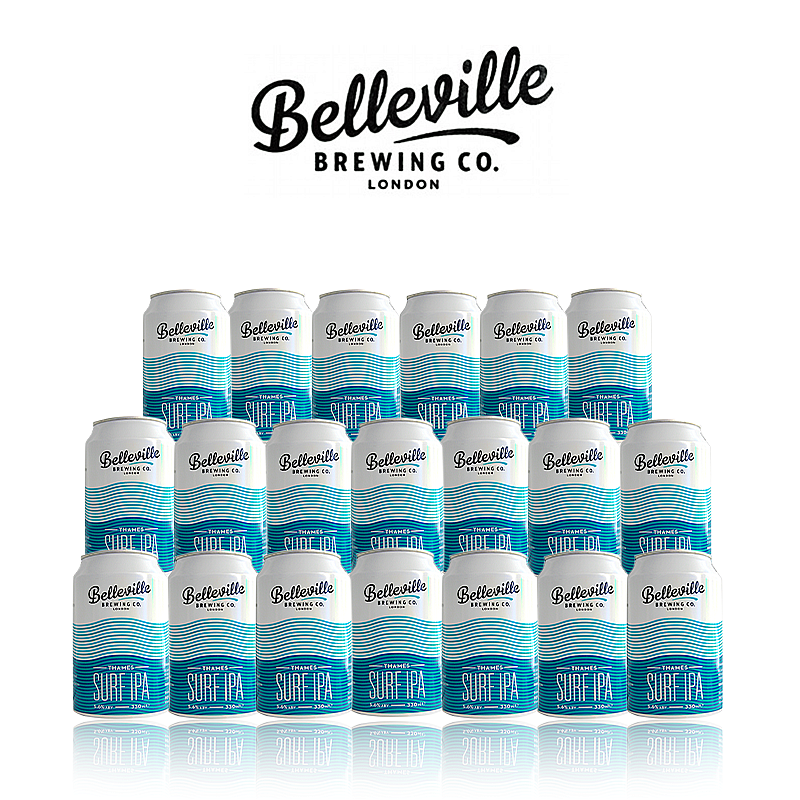Thames Surf IPA 20 Case by Belleville Brewing Co.