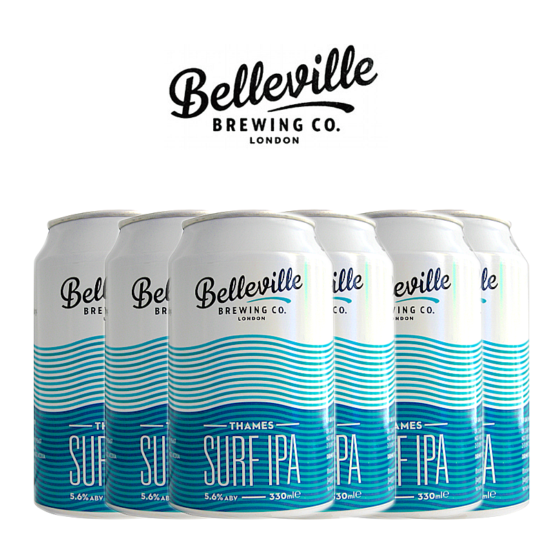 Thames Surf IPA 6 Case by Belleville Brewing Co.