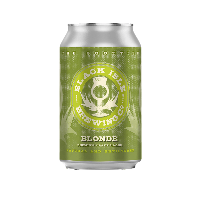 Blonde Organic Can by Black Isle Brewing