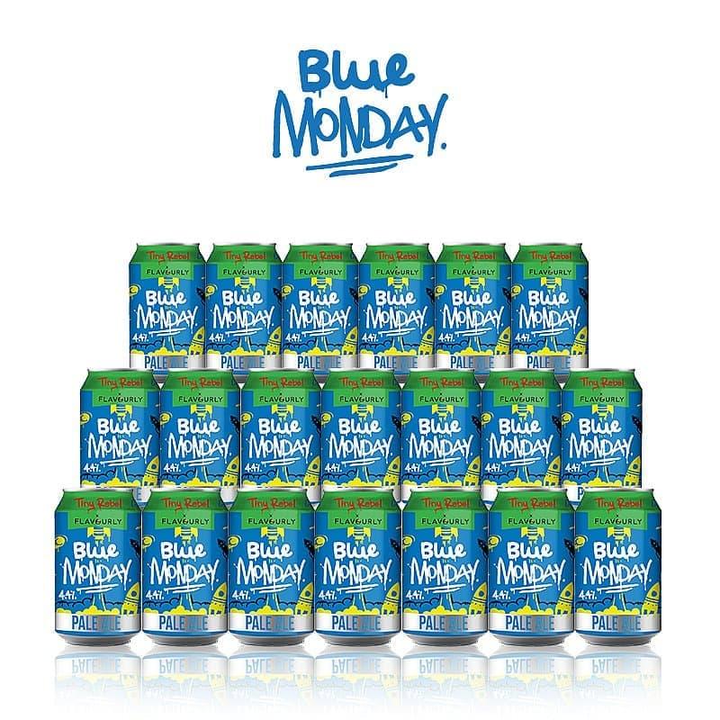 Blue Monday 20 Case by Tiny Rebel x Flavourly