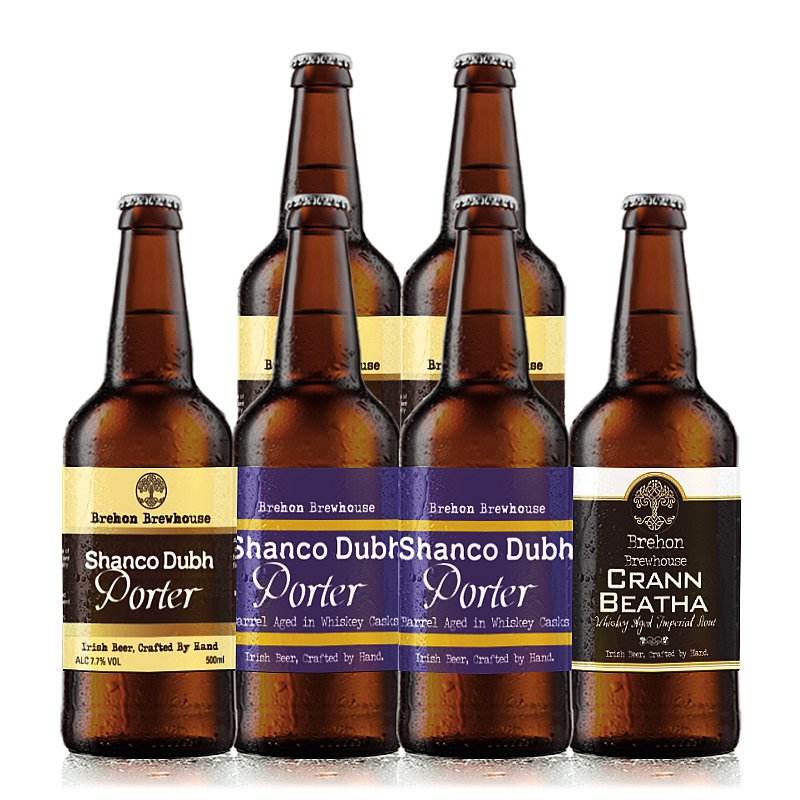 Mixed 6 Case by Brehon Brewhouse