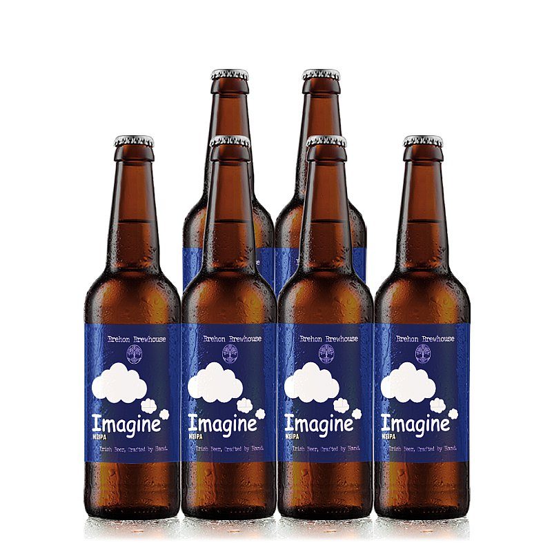 Imagine NEIPA 6 Case by Brehon Brewhouse