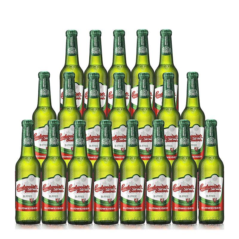 330ml Budvar Free 20 Case by Budweiser Budvar