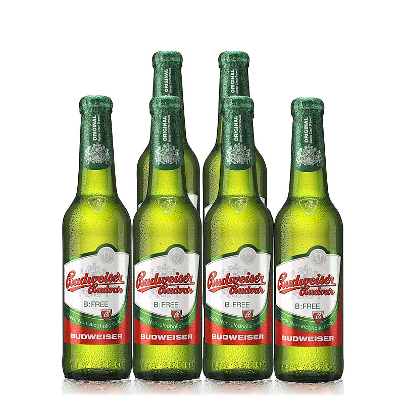330ml Budvar Free 6 Case by Budweiser Budvar